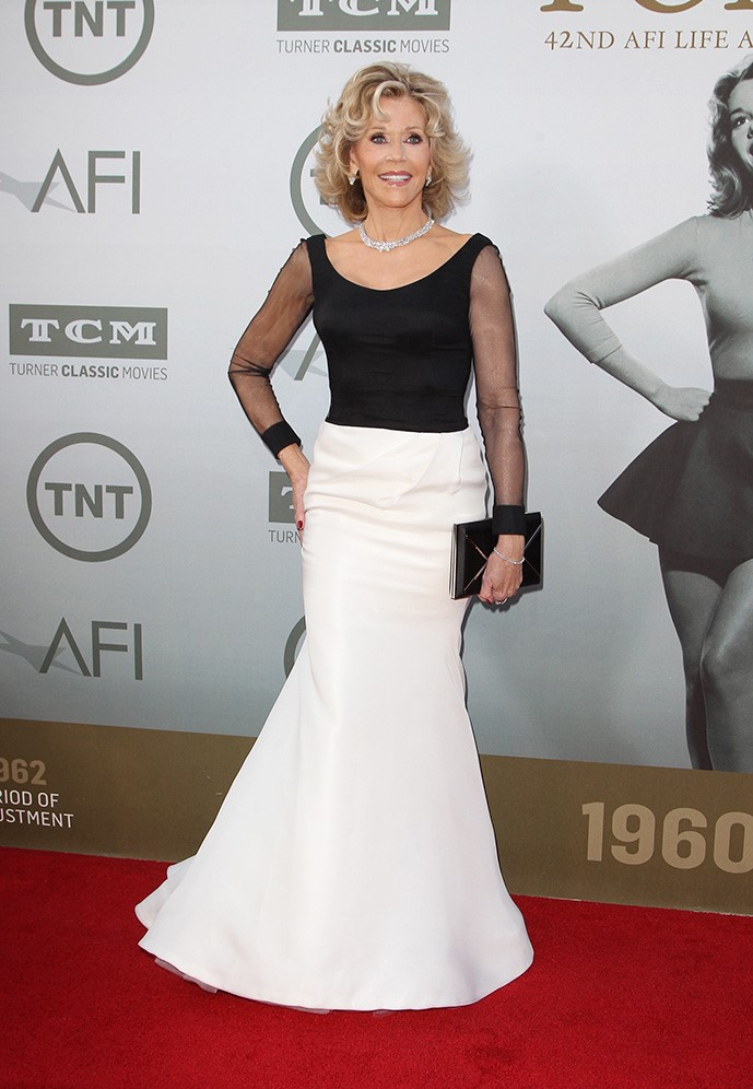 2014 AFI Life Achievement Award Gala Tribute Featuring: Jane Fonda Where: Hollywood, California, United States When: 06 Jun 2014 Credit: FayesVision/WENN.com