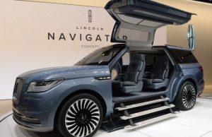 Lincoln Navigator 2018 – автоновинка с морской атмосферой