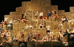 New York – December 12: Nabucco Opera