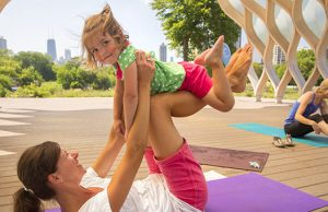Parent & Toddler Yoga at the Zoo
