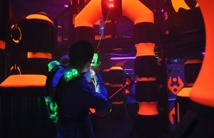 Laser Tag Sessions or Entertainment Play Cards at Play and Spin